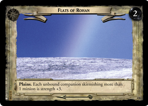 Flats of Rohan (11S240) Card Image