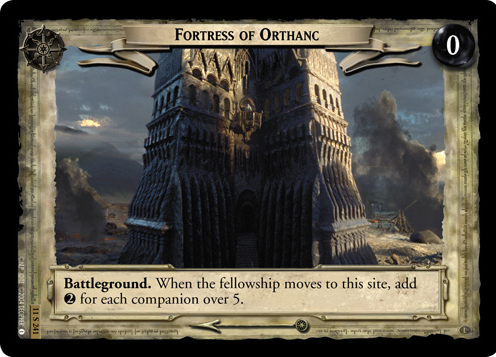 Fortress of Orthanc (11S241) Card Image
