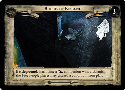 Heights of Isengard (11U244) Card Image