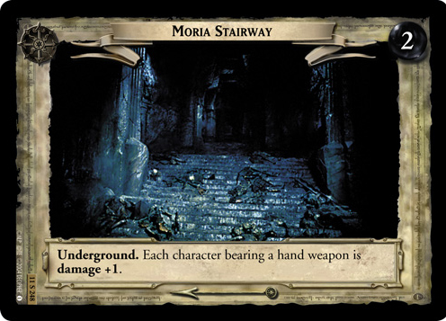 Moria Stairway (11S248) Card Image