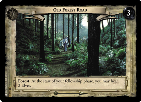 Old Forest Road (11S251) Card Image