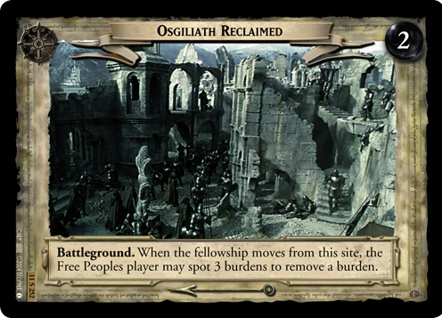 Osgiliath Reclaimed (11S252) Card Image