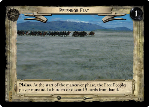 Pelennor Flat (11S254) Card Image