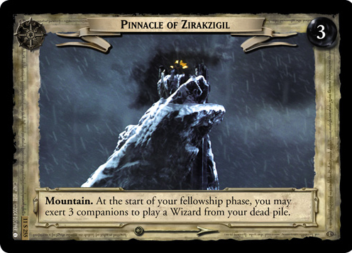Pinnacle of Zirakzigil (11S255) Card Image