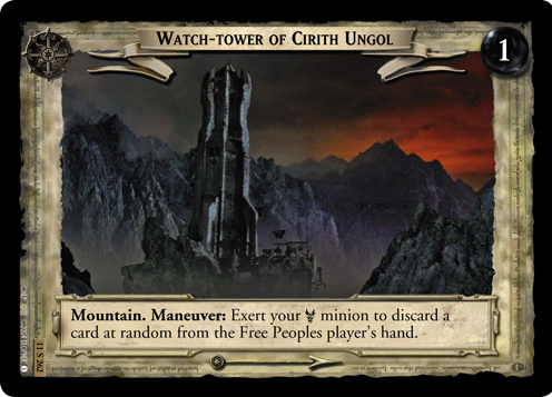 Watch-tower of Cirith Ungol (11S262) Card Image