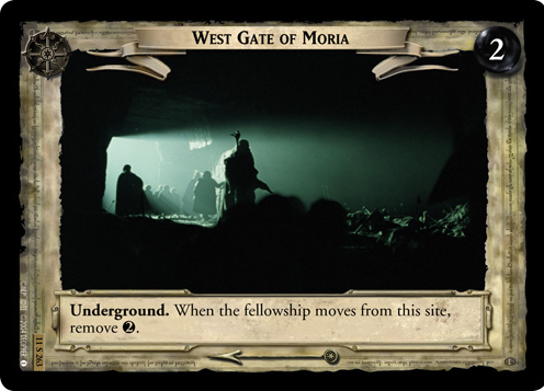 West Gate of Moria (11S263) Card Image
