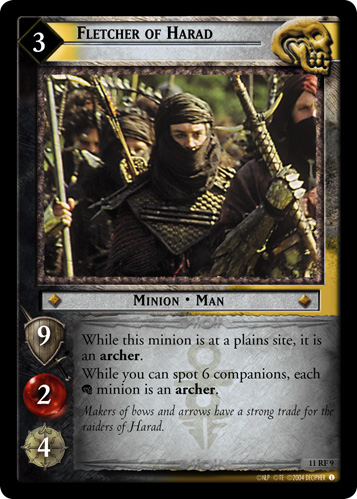 Fletcher of Harad (F) (11RF9) Card Image