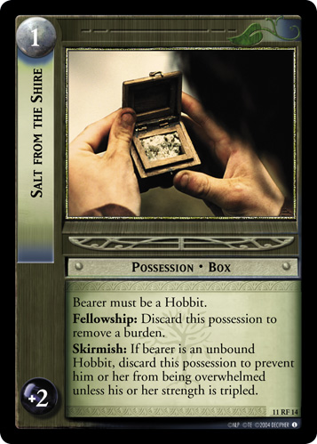 Salt from the Shire (F) (11RF14) Card Image