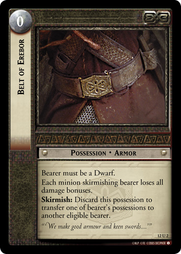 Belt of Erebor (12U2) Card Image