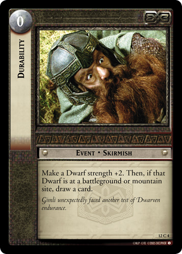 Durability (12C4) Card Image