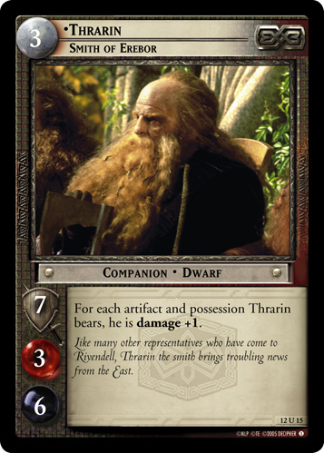 Thrarin, Smith of Erebor (12U15) Card Image