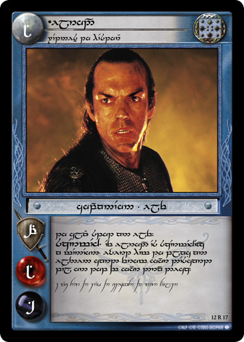 Elrond, Witness to History (T) (12R17T) Card Image