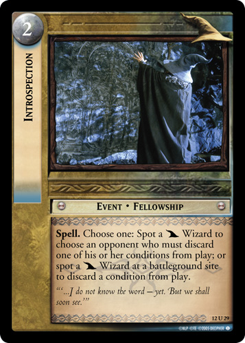 Introspection (12U29) Card Image