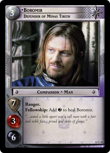 Boromir, Defender of Minas Tirith (12U43) Card Image
