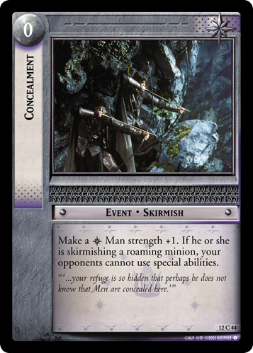 Concealment (12C44) Card Image