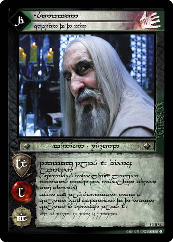 Saruman, Of Many Colours (T) (12R54T) Card Image