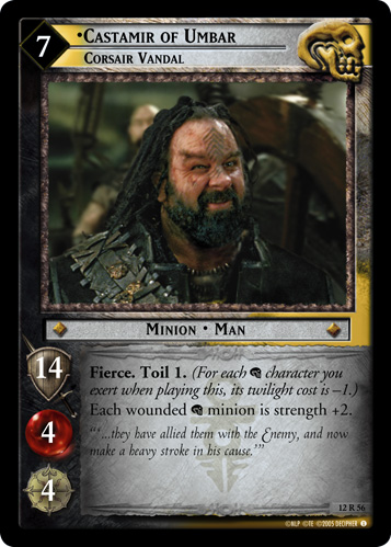 The Dead Lord Of The Rings Trading Cards