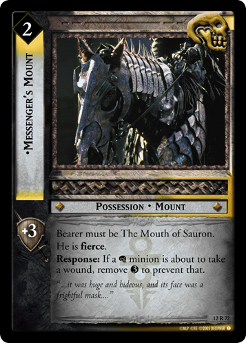 Messenger's Mount (12R72) Card Image