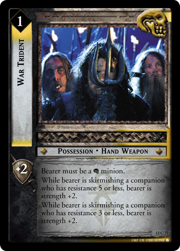 War Trident (12C77) Card Image