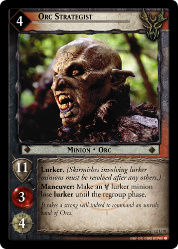 Orc Strategist (12U97) Card Image