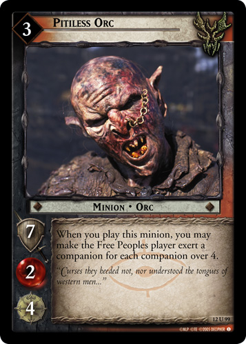 Pitiless Orc (12U99) Card Image