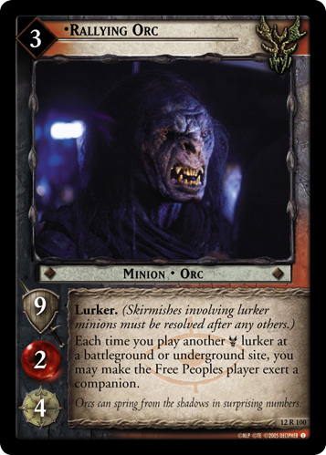 Rallying Orc (12R100) Card Image