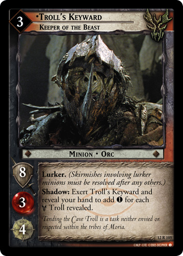 Troll's Keyward, Keeper of the Beast (12R105) Card Image