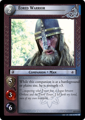 Eored Warrior (12S113) Card Image