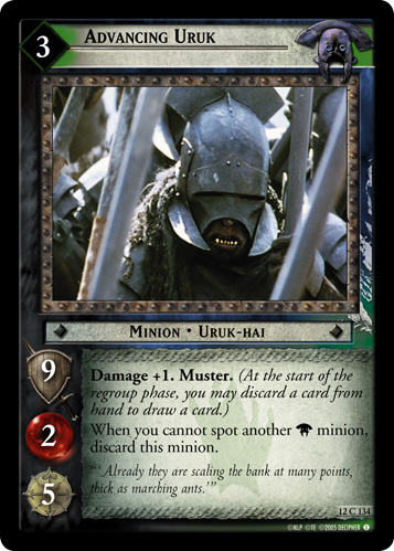 Advancing Uruk (12C134) Card Image