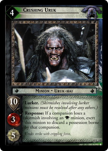 Crushing Uruk (12U140) Card Image