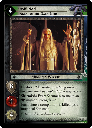 Saruman, Agent of the Dark Lord (12S144) Card Image