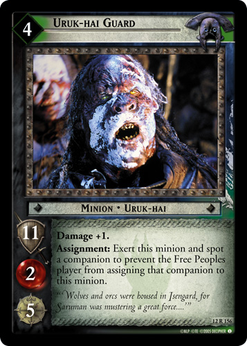 Uruk-hai Guard (12R156) Card Image