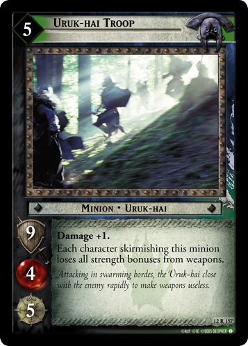 Uruk-hai Troop (12R157) Card Image