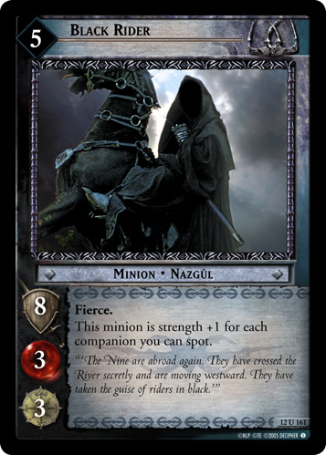 Black Rider (12U161) Card Image