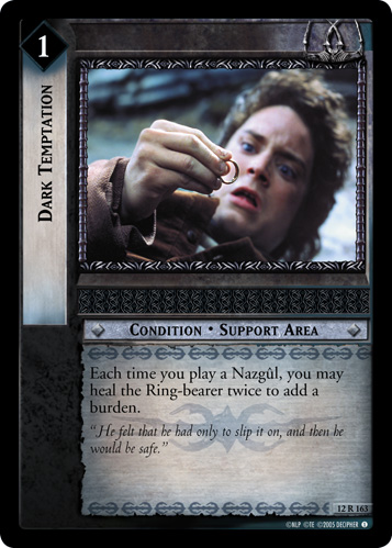 Dark Temptation (12R163) Card Image