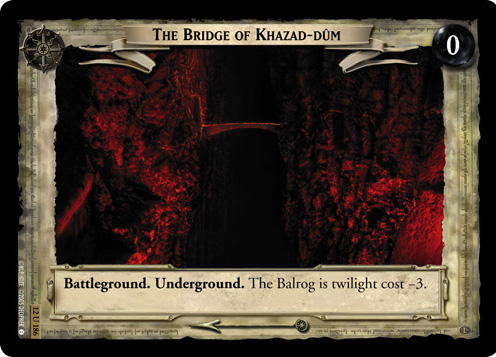 The Bridge of Khazad-dum (12U186) Card Image
