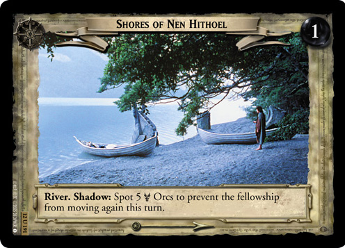 Shores of Nen Hithoel (12U191) Card Image