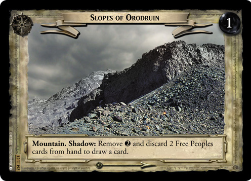 Slopes of Orodruin (12U192) Card Image