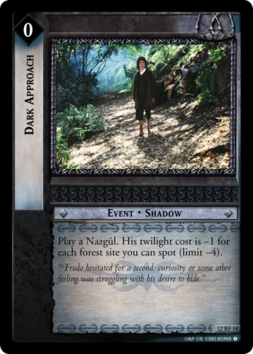 Dark Approach (F) (12RF14) Card Image