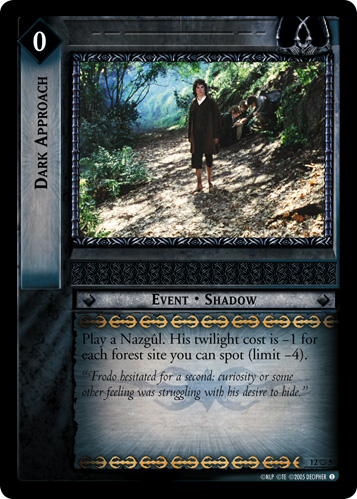 Dark Approach (O) (12O5) Card Image