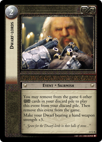 Dwarf-lords (13U4) Card Image