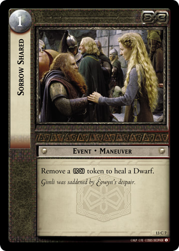 Sorrow Shared (13C7) Card Image