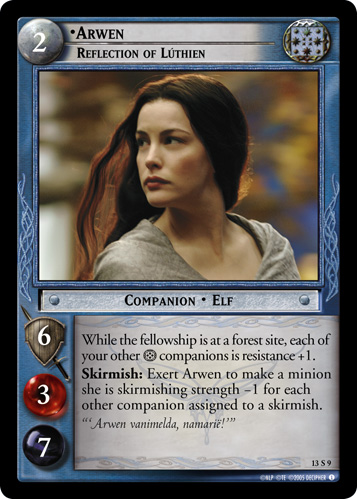 Arwen, Reflection of Luthien (13S9) Card Image
