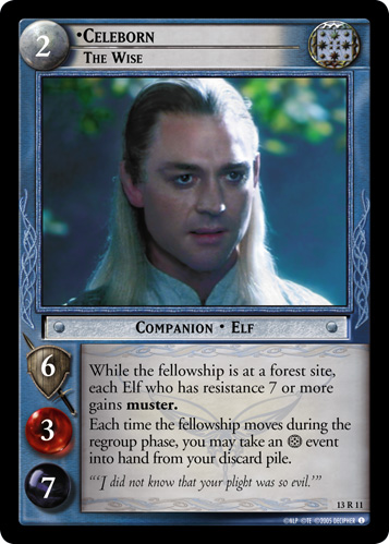 Celeborn, The Wise (13R11) Card Image