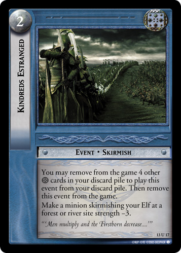 Kindreds Estranged (13U17) Card Image