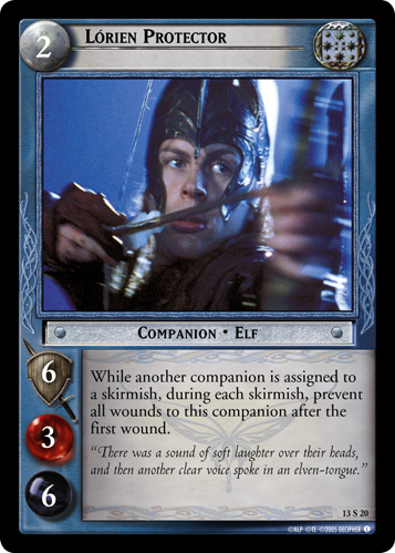 Lorien Protector (13S20) Card Image