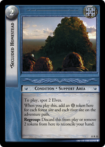 Secluded Homestead (13R22) Card Image