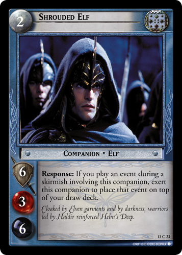 Shrouded Elf (13C23) Card Image
