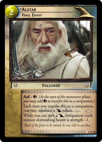 Alatar, Final Envoy (13U28) Card Image