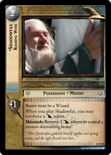 Shadowfax, Roaring Wind (13R40) Card Image